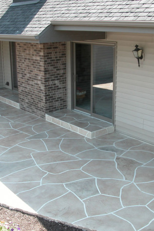 decorative concrete overlays green bay wisconsin