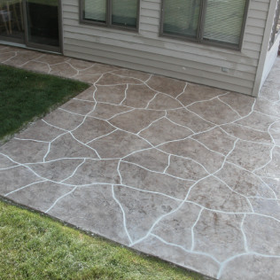 decorative concrete overlays in green bay, wisconsin